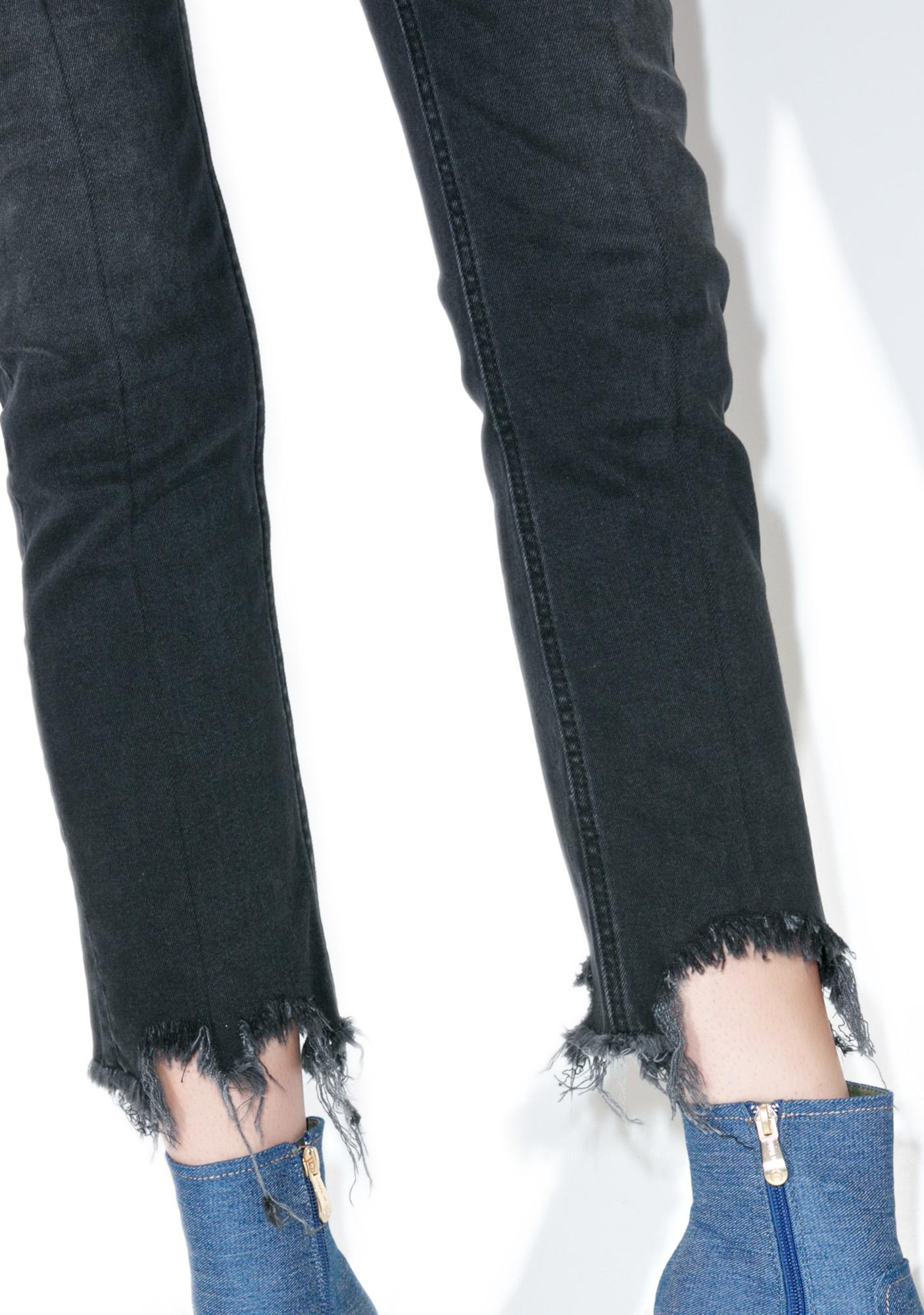 Cheap Monday Common Straight Leg Jeans | Dolls Kill