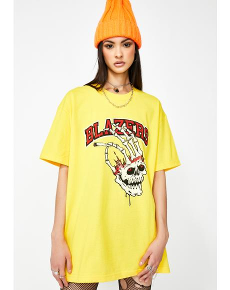 Yellow Blazers Graphic Tee