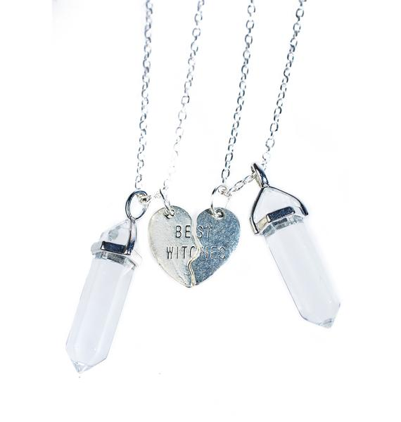Crystal Connection Necklace Set