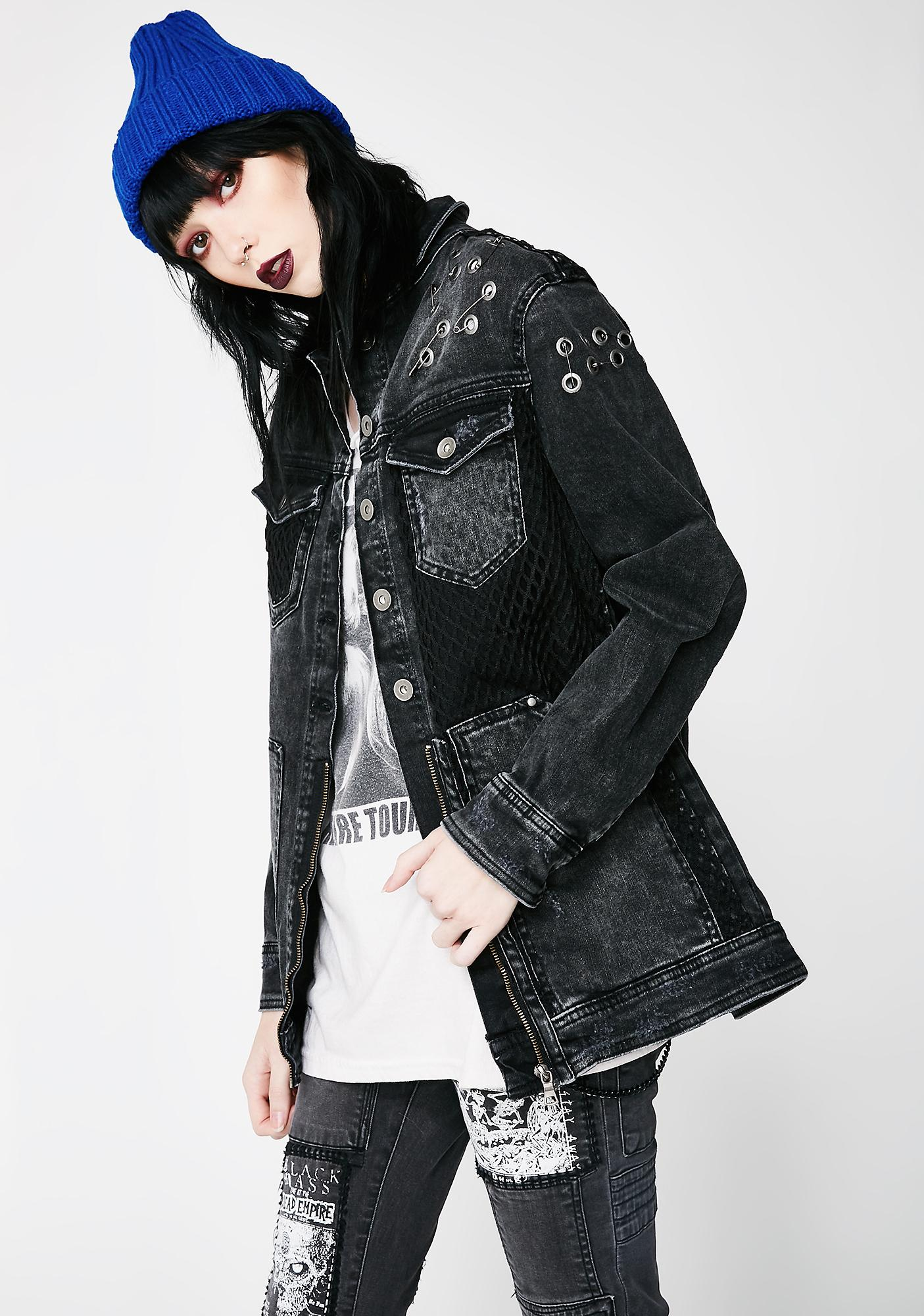 Disturbia South Mesh Jacket