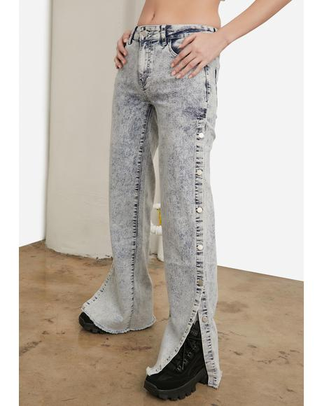 Hear Me Out Straight Leg Jeans
