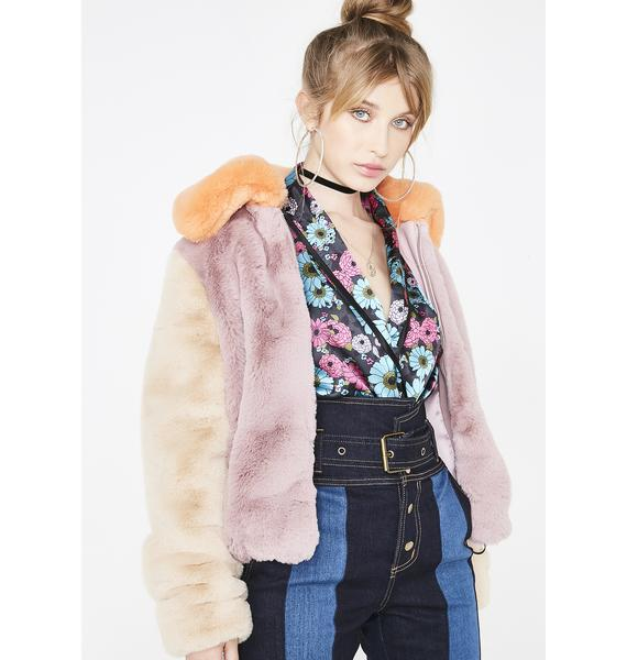 BNCI Color Blocked Chubby Jacket