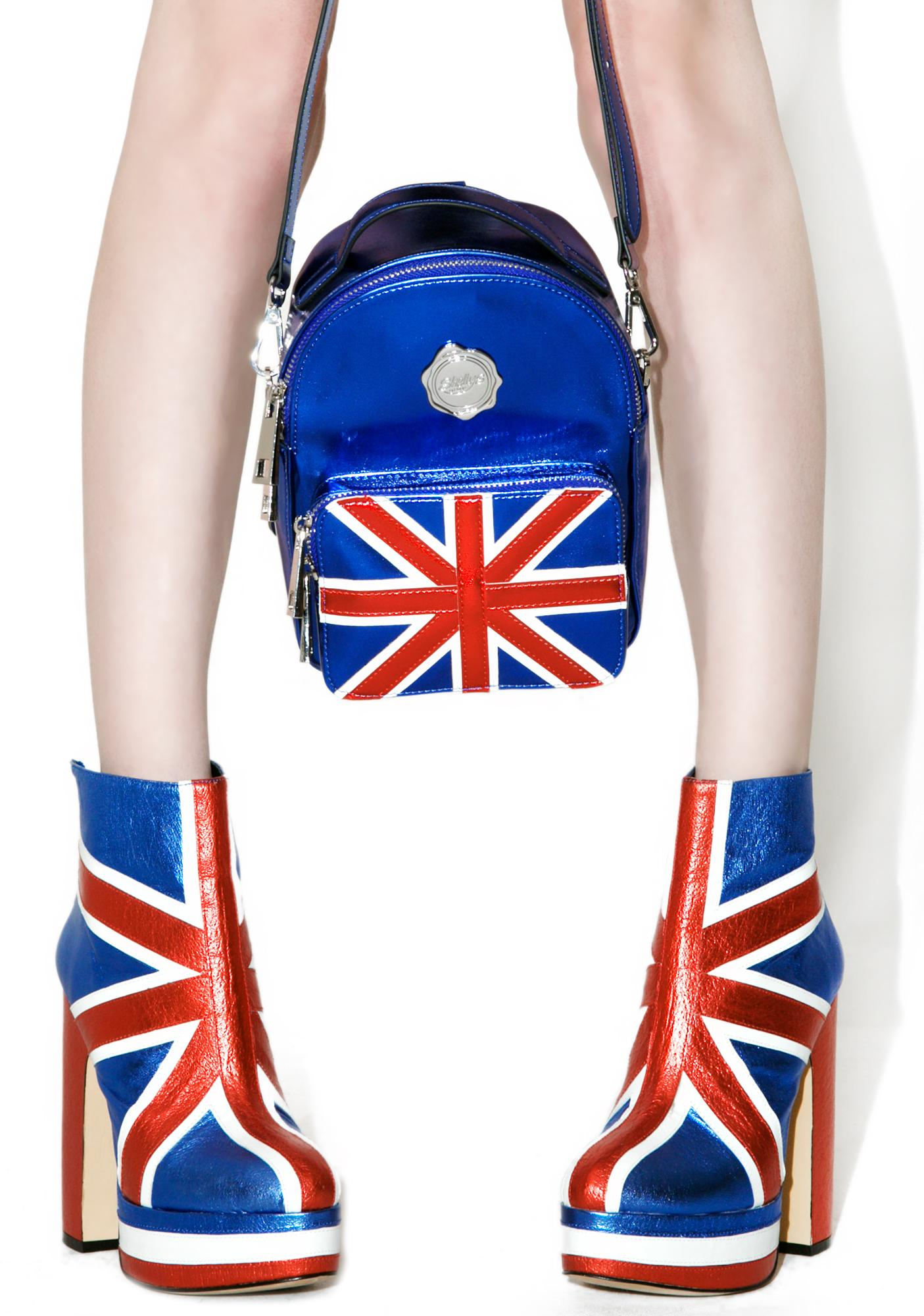 Shellys London Cobalt Cooper Mini Backpack