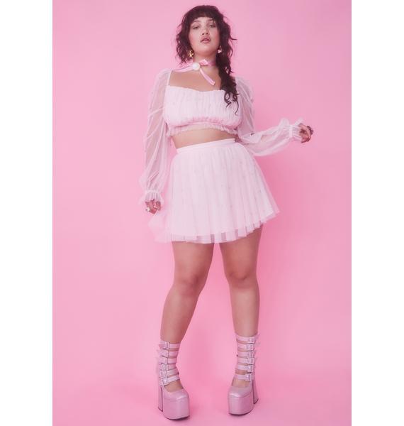 Sugar Thrillz Servin' Fairy Glam Mother Crop Top