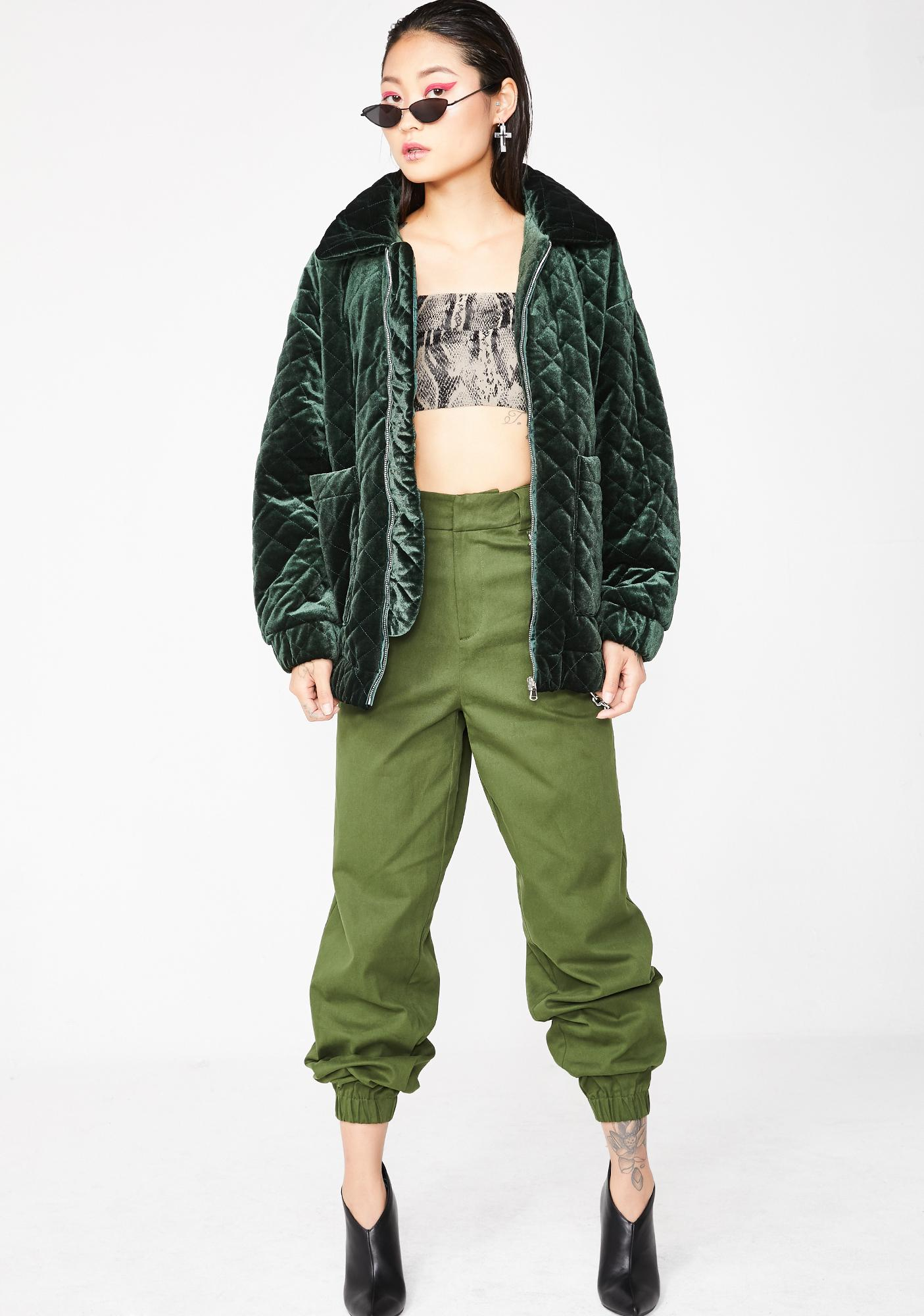 I AM GIA Forest Contraband Jacket