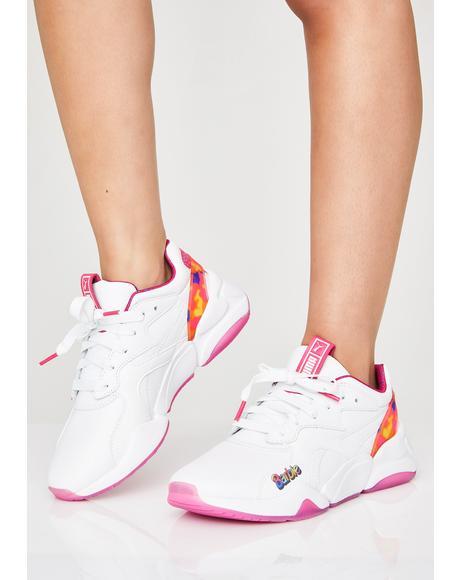 Nova x Barbie Flash Sneakers
