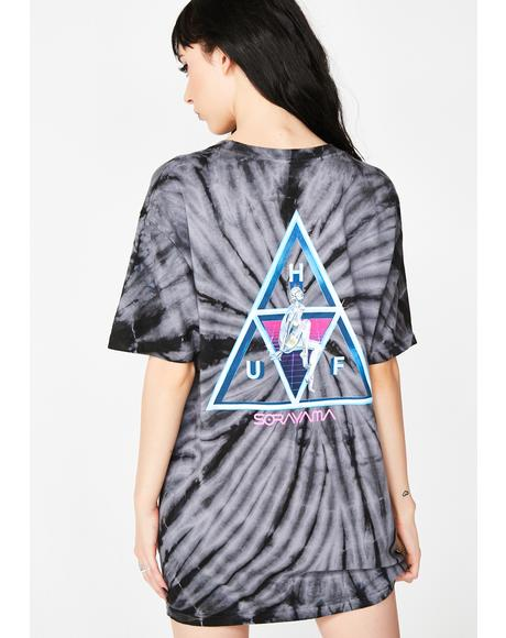 Sorayama Triple Triangle Wash Tee