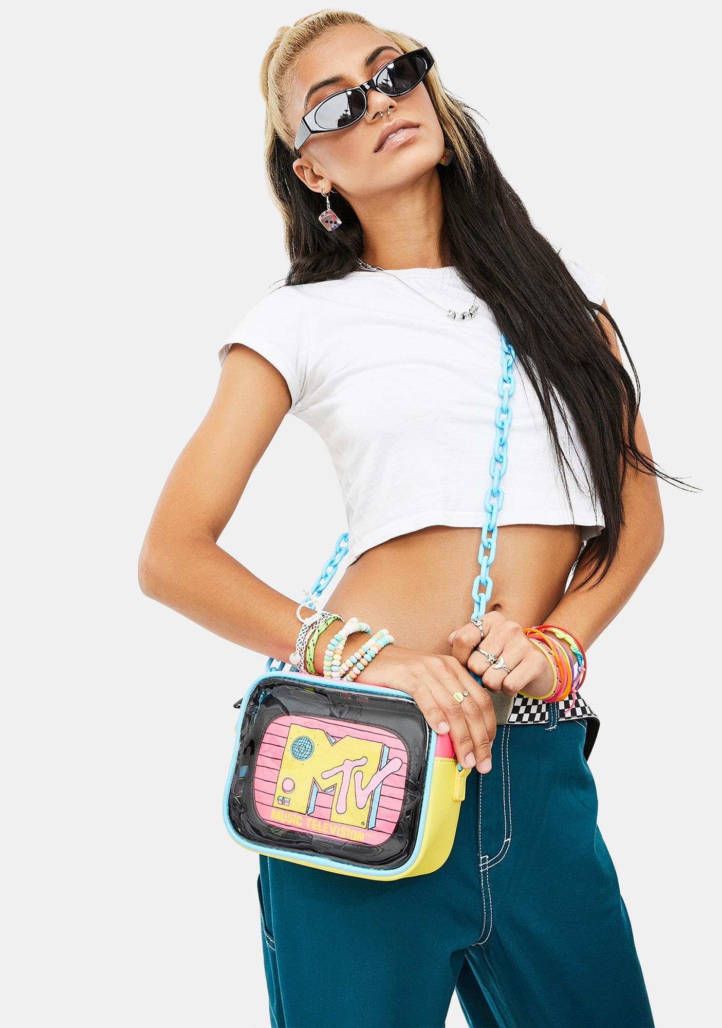 Loungefly MTV Crossbody Bag