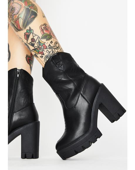 Chill TF Out Platform Boots