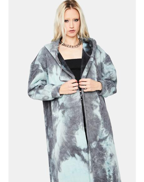Electric Love Oversized Tie Dye Jacket
