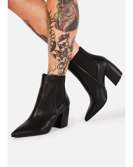 Night Born Fierce Ankle Boots