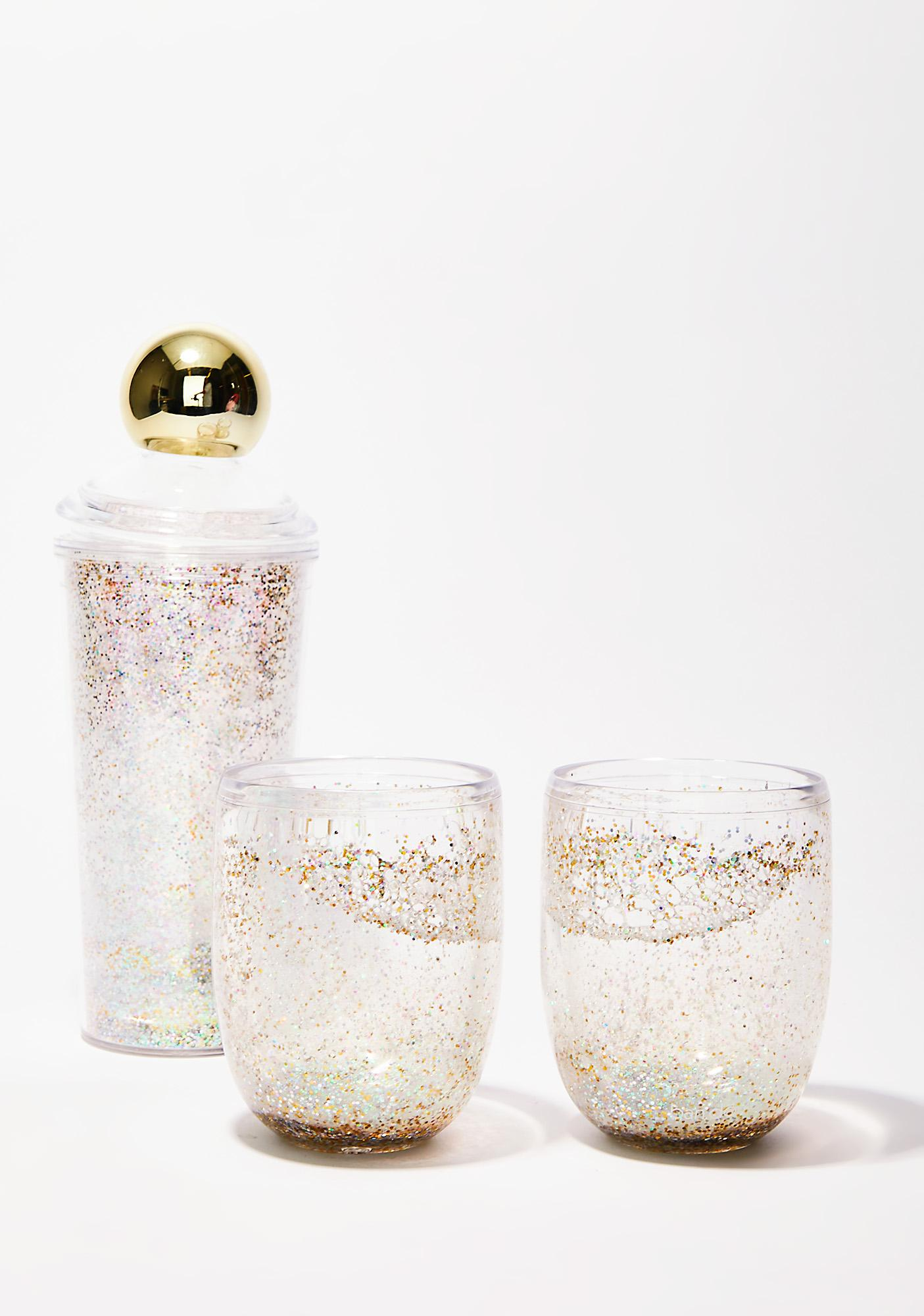 Glitter Poppin' Cup Set
