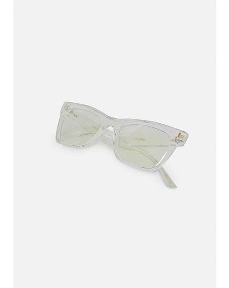 Clear Finley Blue Light Blocking Glasses