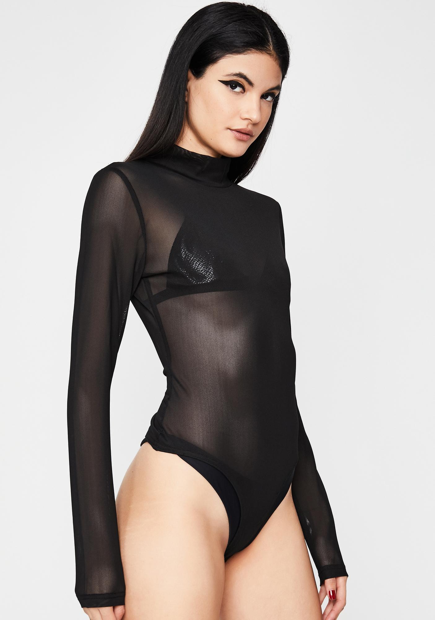 Heaux N' Hustlers Mesh Bodysuit