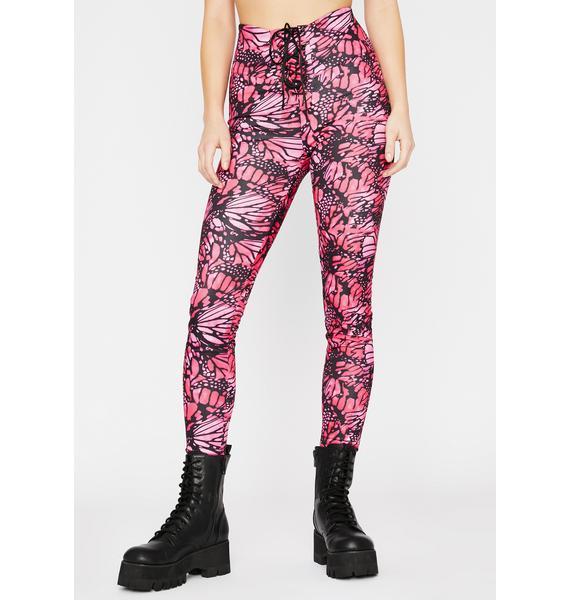 Sweet Mystic Magic Lace-Up Pants