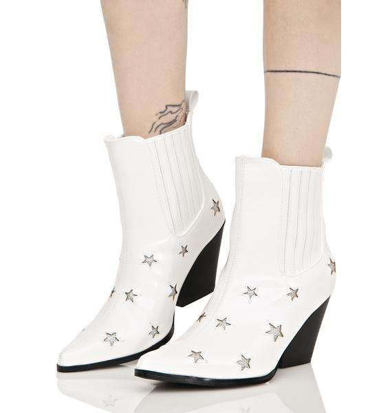 Countin' Starz Ankle Boots