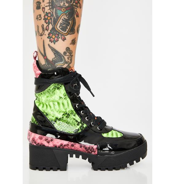 Viper Armed N' Dangerous Combat Boots