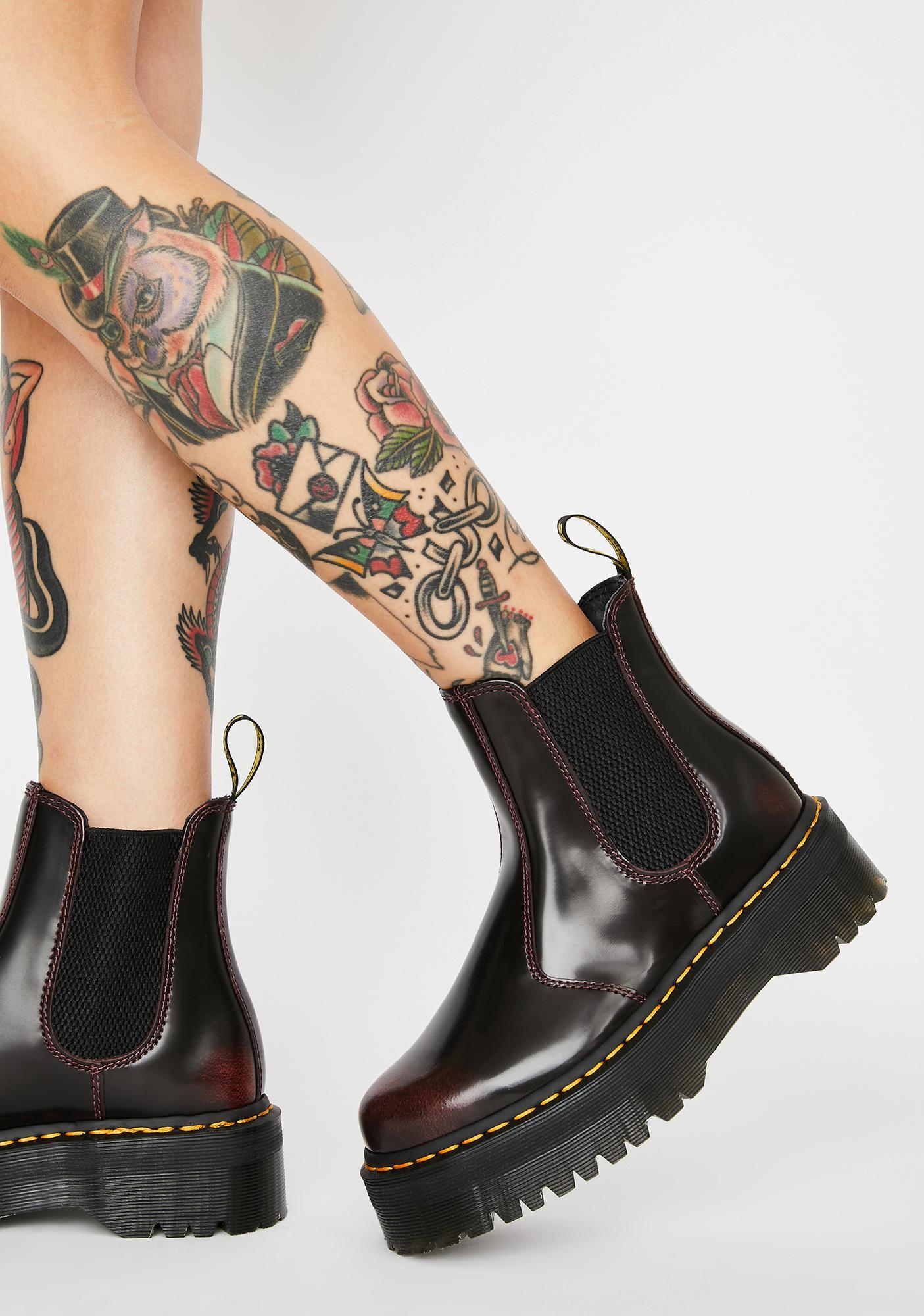 doc martens chelsea boots platform