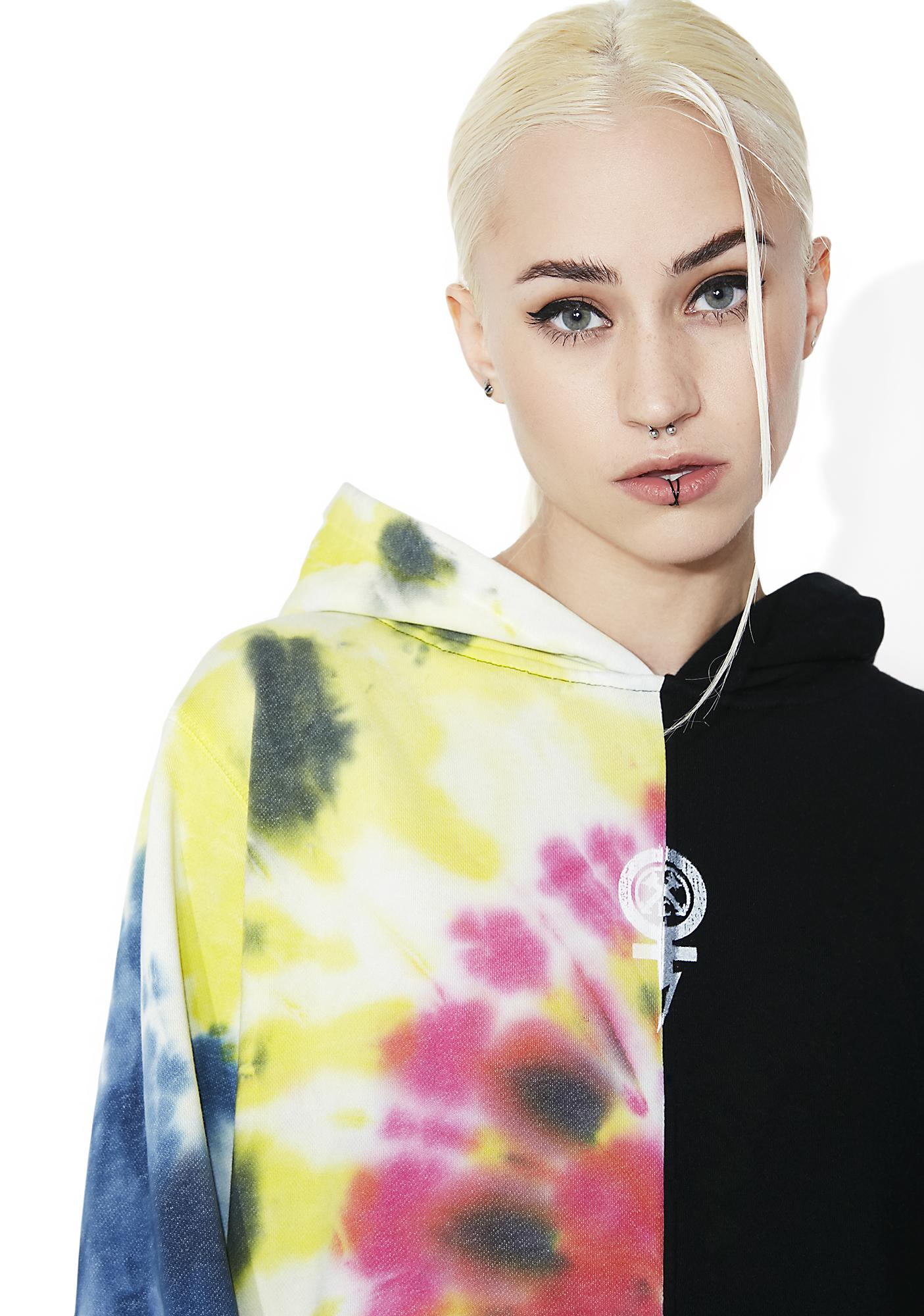 Civil Clothing Baddies Tour Tie-Dye Pullover