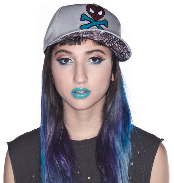 Tokidoki Spidey Crossbones Hat