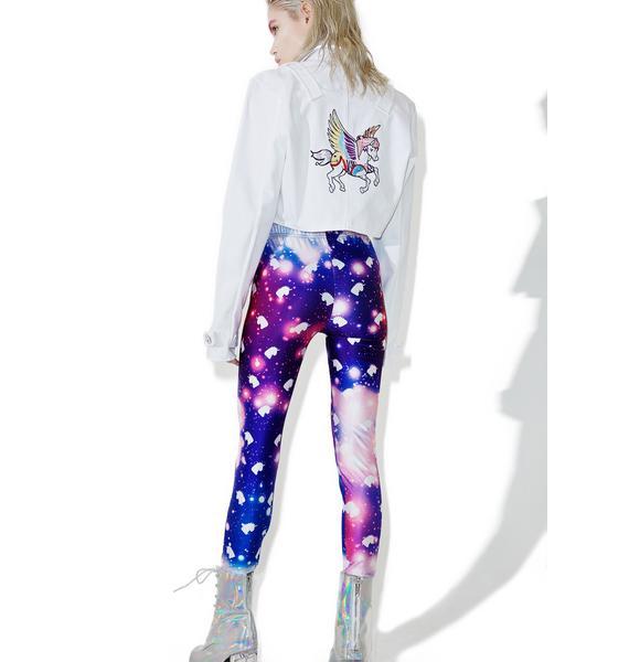 Smoko Uni Galaxy Leggings
