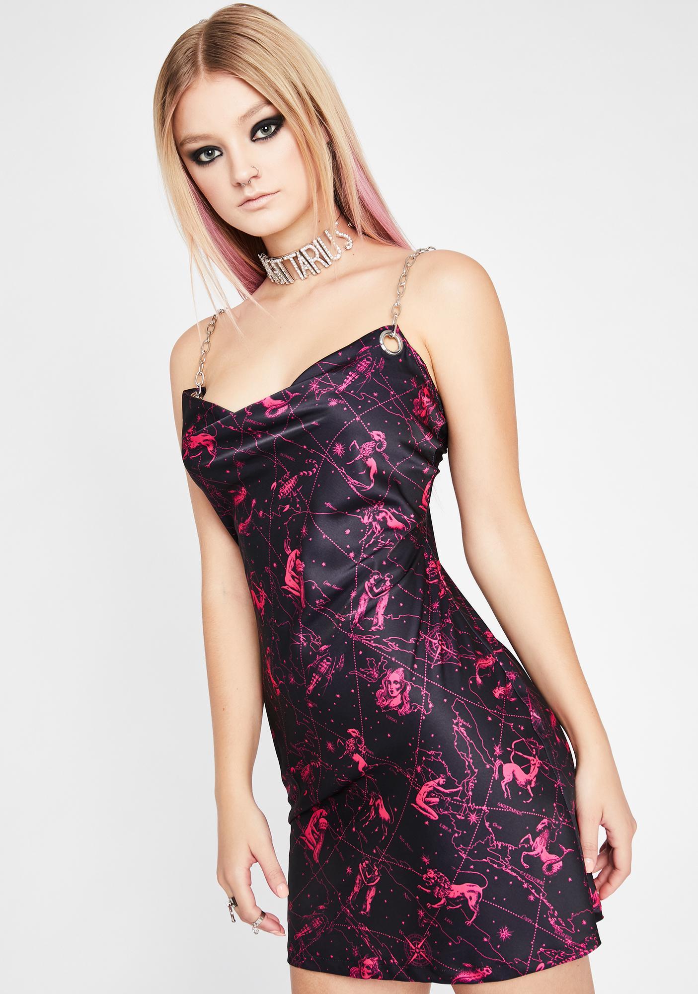 HOROSCOPEZ Defiant Dreamweaver Slip Dress