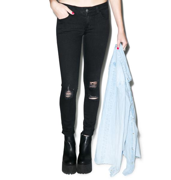 SIWY Denim Hannah Tonight's The Night Slim Crop Jeans