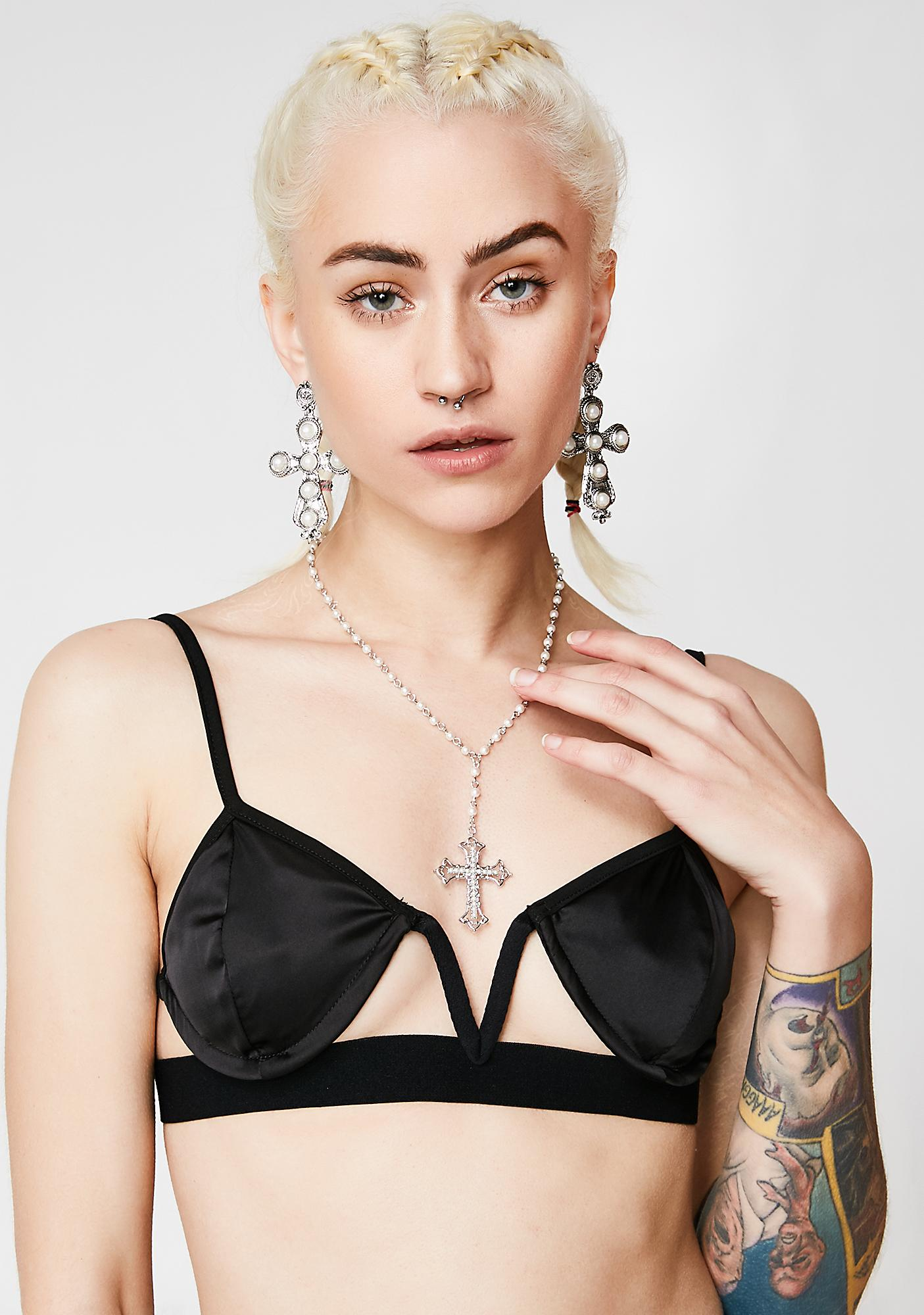 Living In Sin Necklace