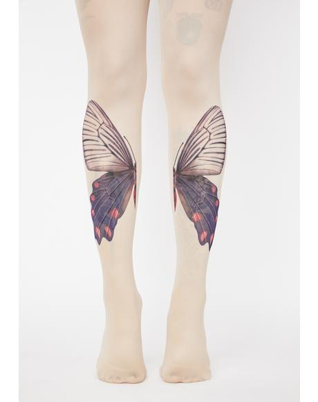 Mystic Moonwalk Butterfly Tights