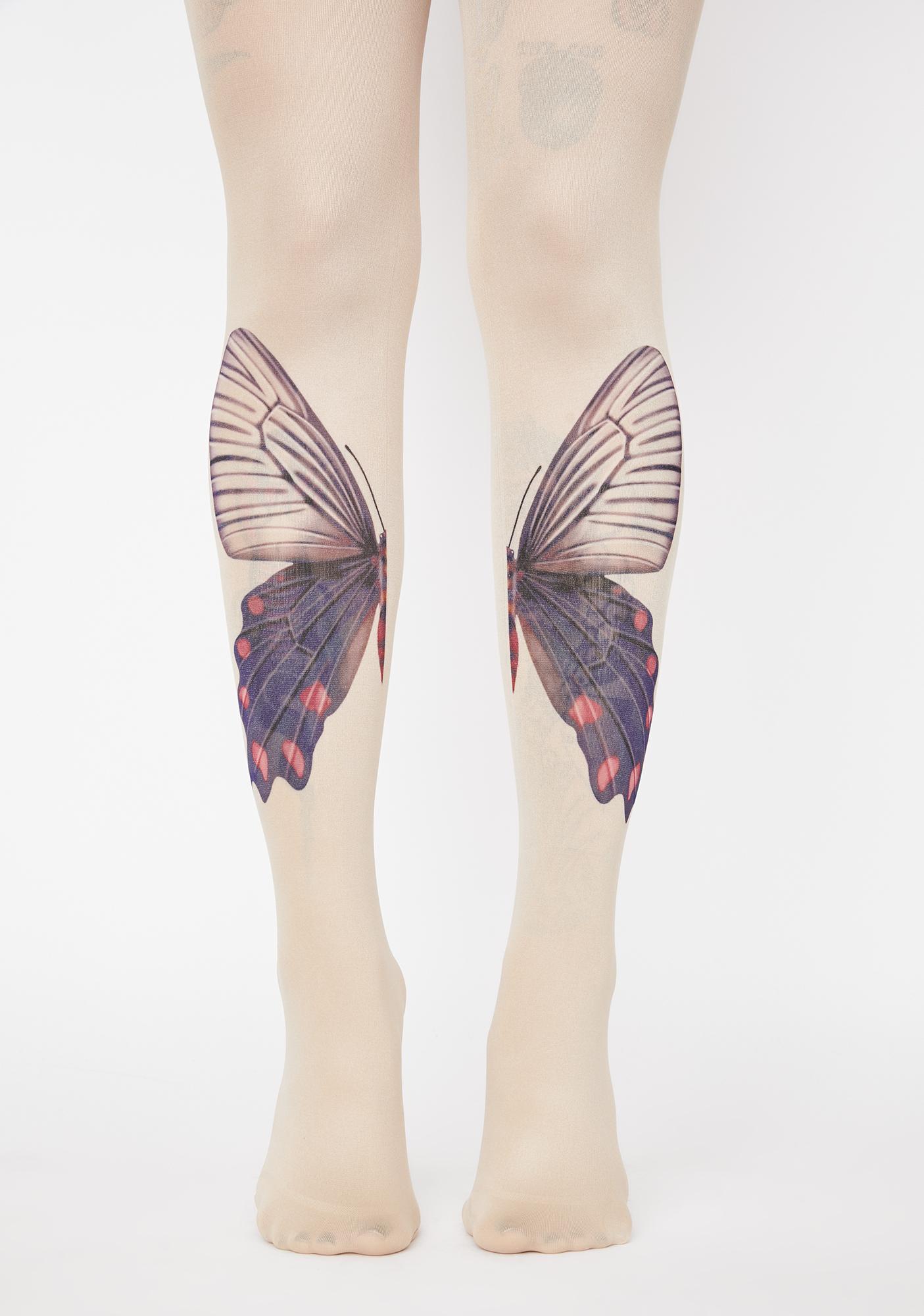 Mystic Moonwalk Butterfly Tights