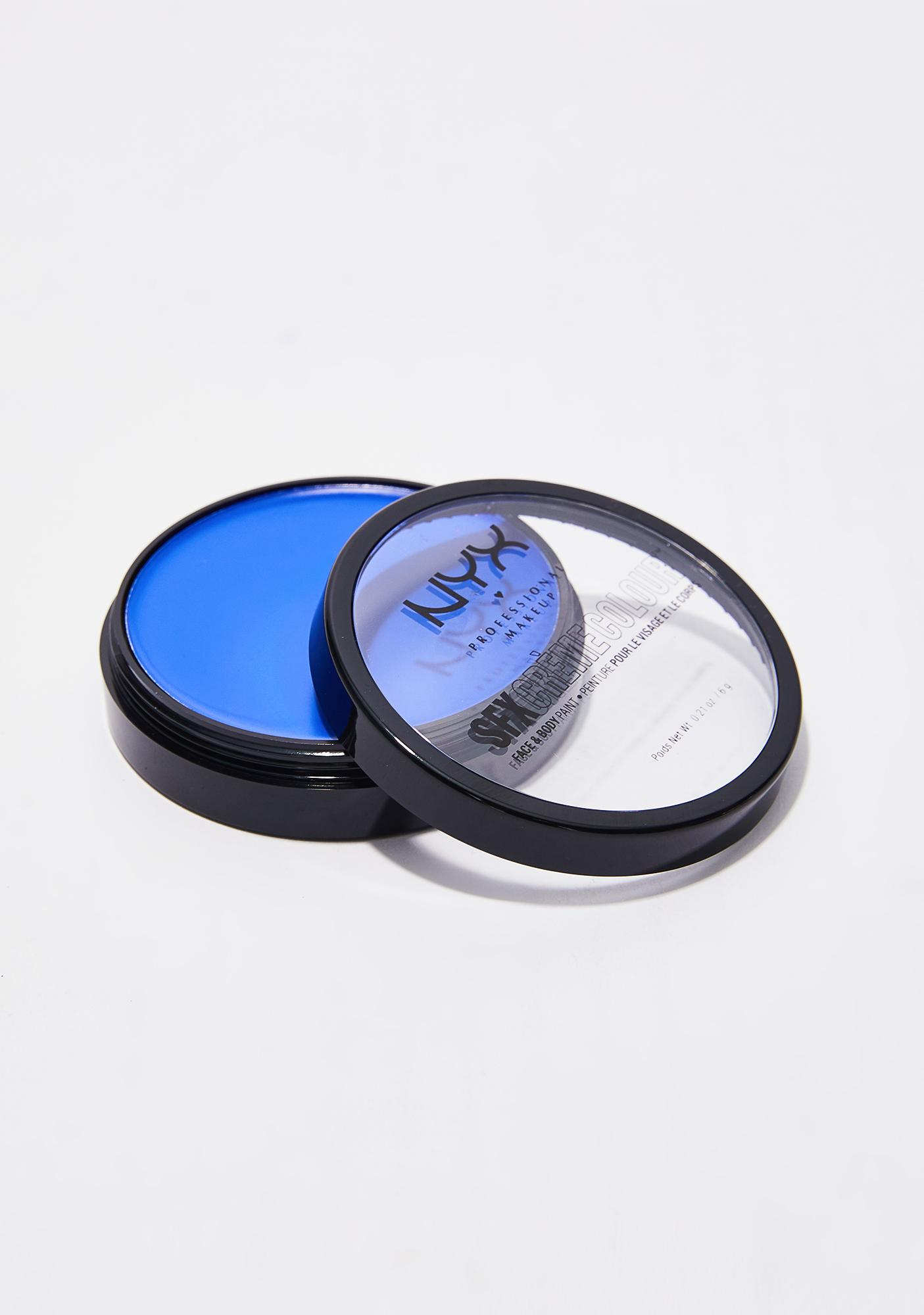 NYX  Blue SFX Créme Colour Face & Body Paint