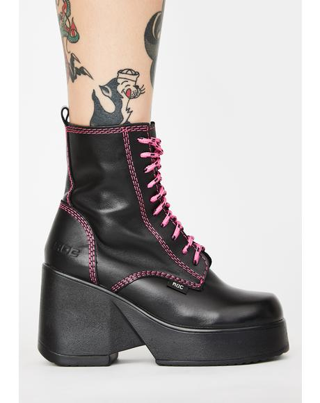 Pyramid Ankle Boots