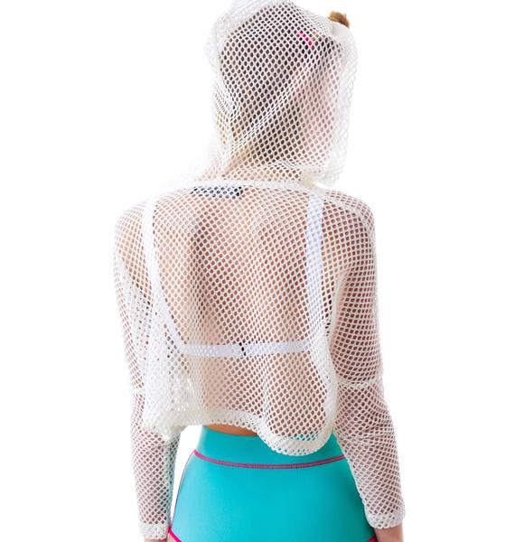 This Is A Love Song Manta Mesh Top