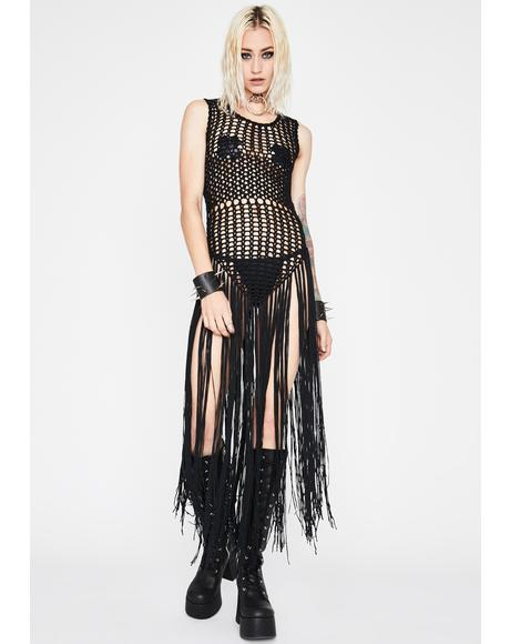 Full Moon Fest Fringe Dress