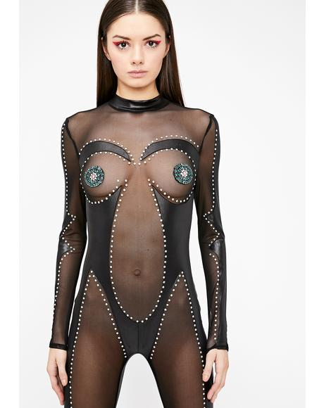Supreme Extreme Sheer Catsuit