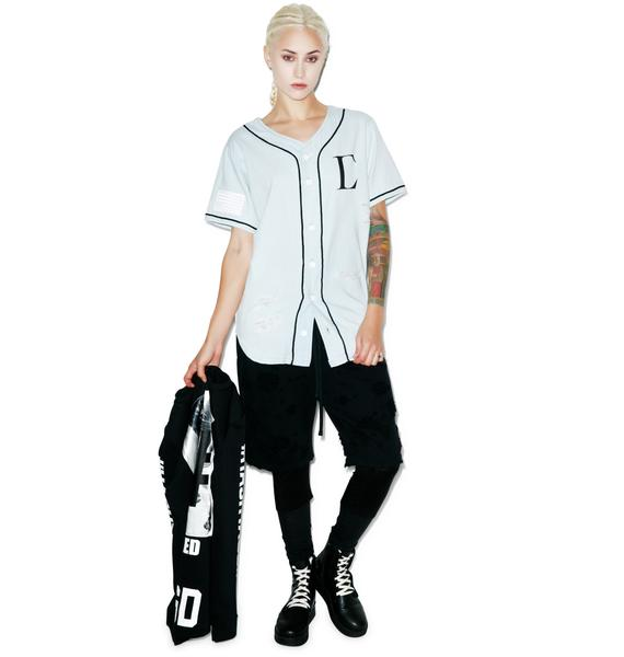 Civil Clothing Civil Regime Denim Baseball Jersey