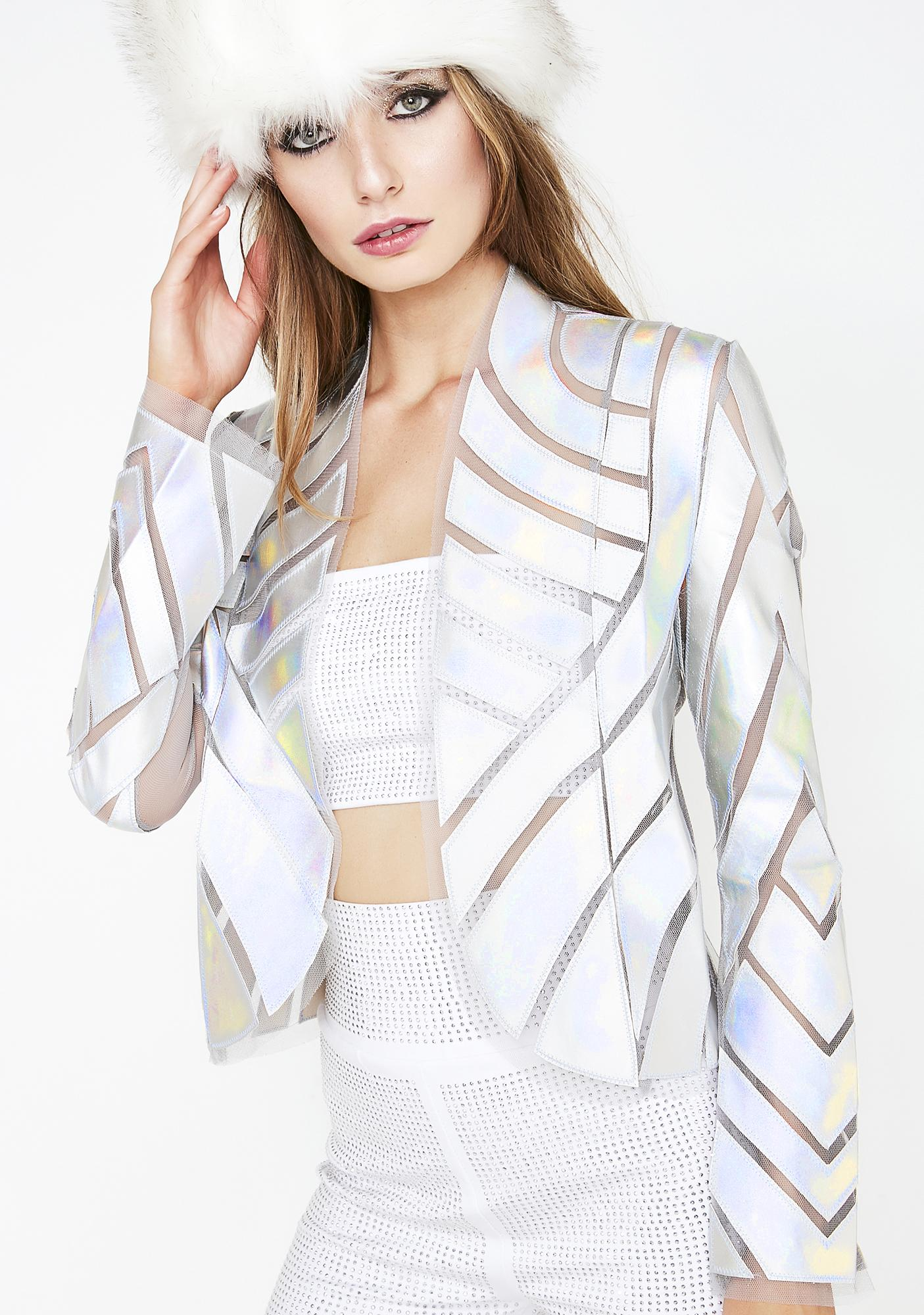 Chrome Current Situation Metallic Jacket