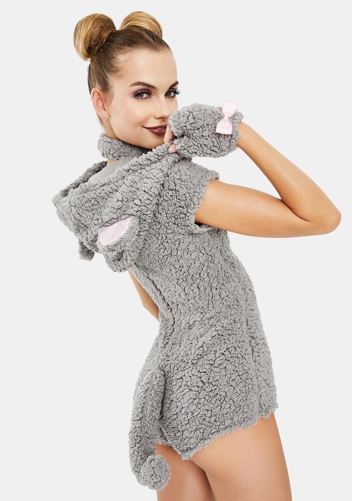 Dolls Kill Mighty Mouse Halloween Costume