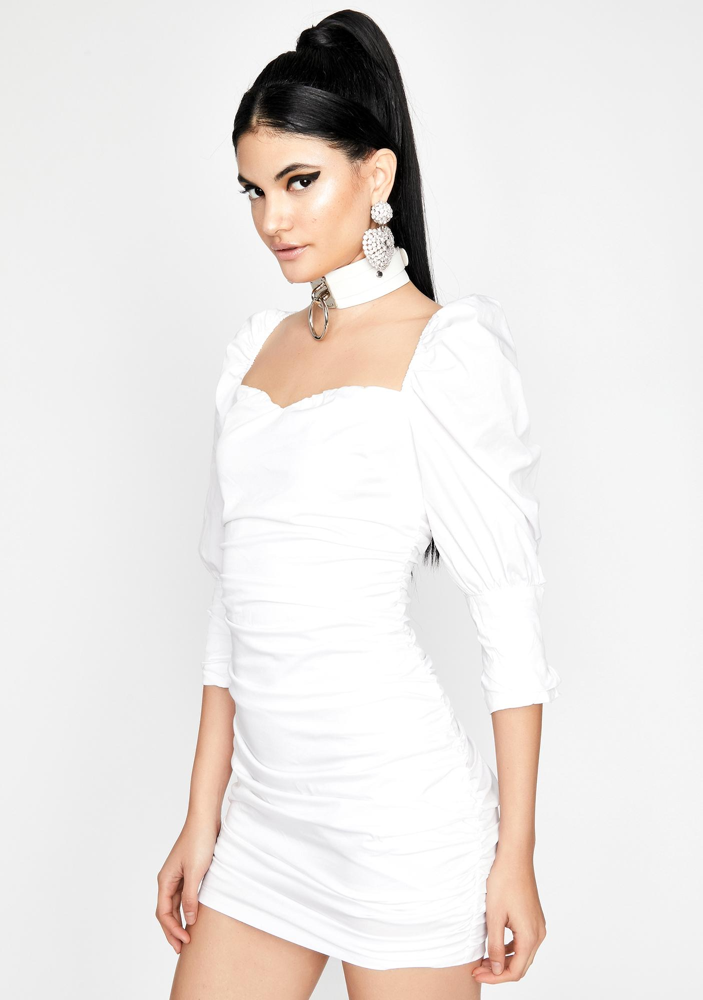 Belle Bliss Ruched Dress