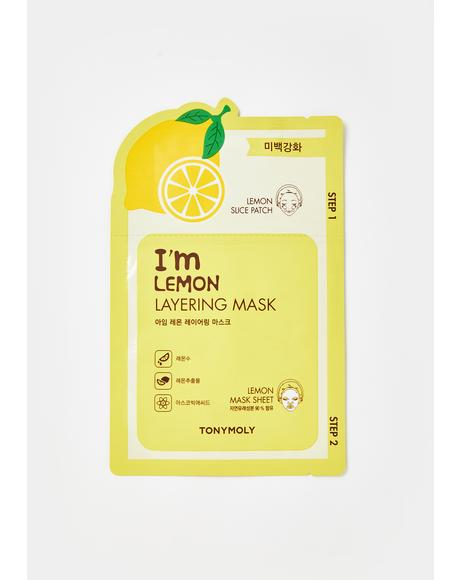 Lemon Layering Sheet Mask
