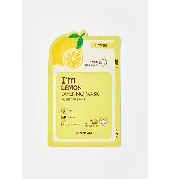 TONYMOLY Lemon Layering Sheet Mask