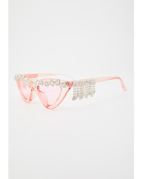 Rose High Price Cat Eye Sunglasses