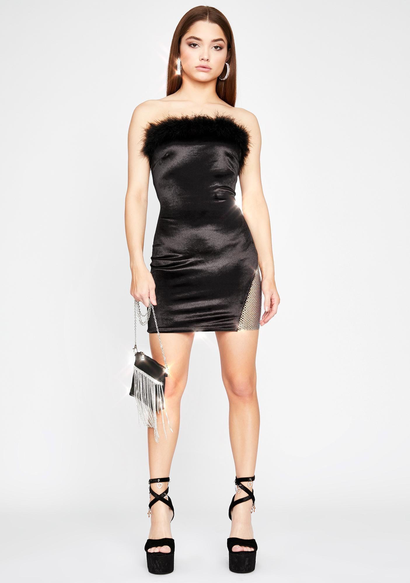 Xpensive To Date Me Mini Dress