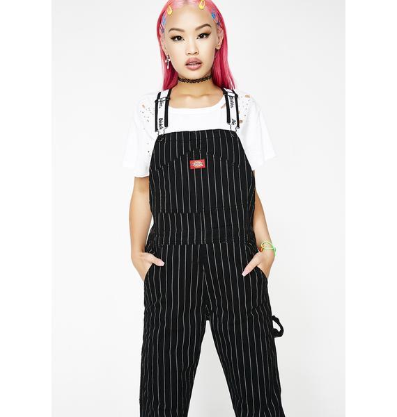 Dickies Girl Pinstripe Overalls