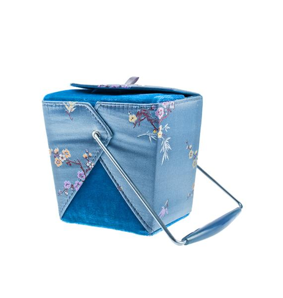 American Deadstock Blossom Chow Time Takeout Purse