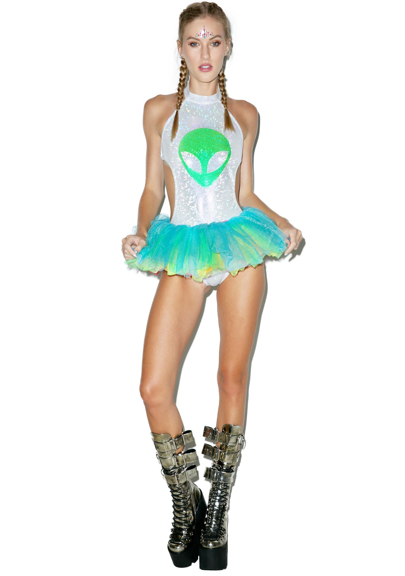Rolita Rave Couture Space Out Bodysuit