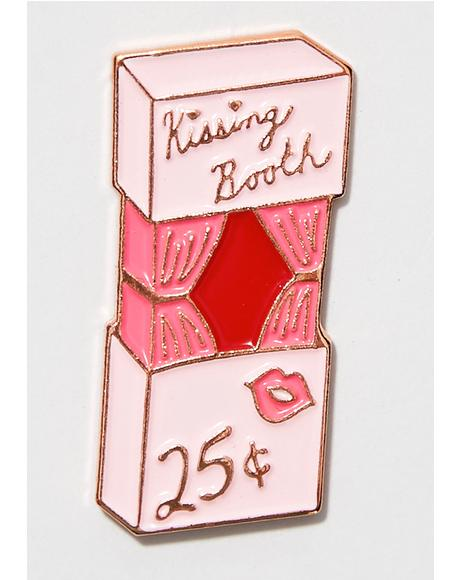 Kissing Booth Lapel Pin
