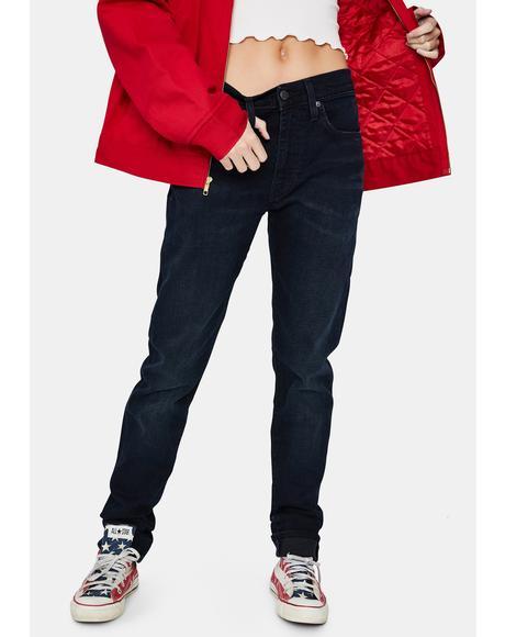 Blue Ridge Flex Skinny Taper Jeans