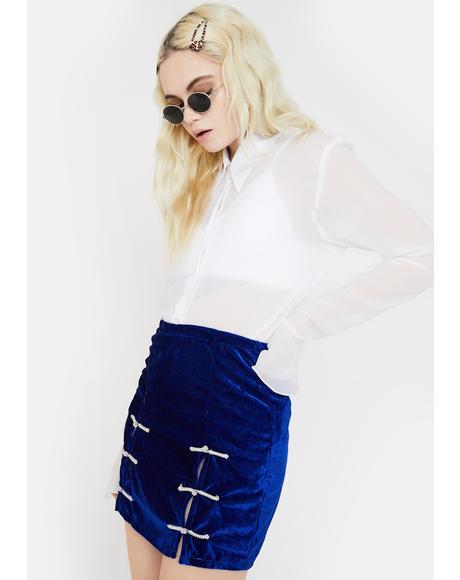 Electric Sincity Mini Skirt