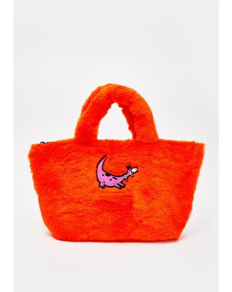 X Flintstones Furry Handbag